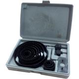 Spesifikasi Perkakas Nankai Holesaw Set Kit Hole Saw Mata Bor Pelubang Kayu Set 16 Pcs Perkakas Tool Paling Bagus