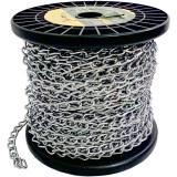 Toko Nankai Rantai Besi Galvanis Meteran Gulungan 2Mm X 30M Galvanis Metal Chain Perkakas Tool Nankai