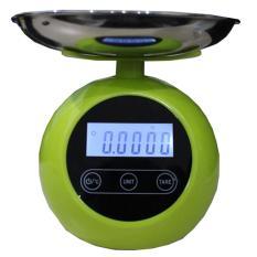 Nankai timbangan duduk digital bulat 5kg
