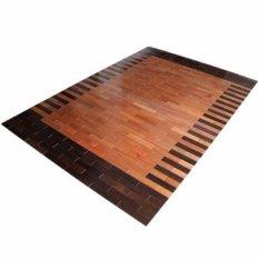 Katalog Native Borneo Karpet Kayu Meranti 140Cm X 200Cm Motif Native Borneo Terbaru