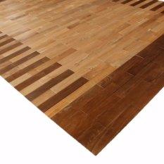 Native Borneo Karpet Kayu Sungkai 140Cm X 200Cm Motif Native Borneo Murah Di South Kalimantan