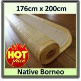 Toko Native Borneo Tikar Rotan Saburina 176Cm X 200Cm Kuning Lampit Rotan Kalimantan Karpet Rotan Borneo Tikar Kalimantan Karpet Natural Karpet Minimalis Karpet Anti Alergi Murah Di South Kalimantan