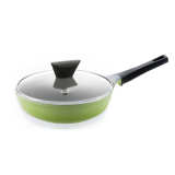 Beli Neoflam Mitra Marble Fry Pan 26Cm With Glass Lid Hijau Cicil