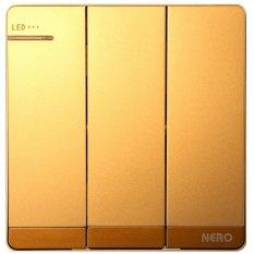 Diskon Nero Saklar Decora Q7 G Q71632D G Gold Nero