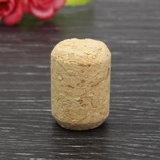 Baru 10 Pcs/lot Tidak Terpakai Lurus Alami Tahan Lama Round Cork Plugs Gabus Anggur Stopper #63869-Intl