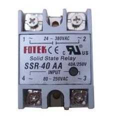 Spek Baru 1 Pcs Solid State Relay Ssr 40 Aa Ac Ac 40A 250 V 80 250Vac 24 380Vac Oem