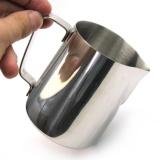 Harga Baru 350 Ml Stainless Steel Susu Buih Latte Cokelat Kehitaman Mug Piala Kendi Pitcher Tamper Kerajinan Rumah Dapur Alat Satu Set