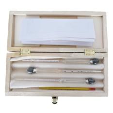 New 3pcs/Set Alcoholmeter Alcohol Meter wine Concentration Meter Alcohol Instrument Hydrometer Tester - intl