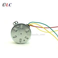 Baru 50 Ktyz 80 Rpm AC 220 V 8 W Magnet Permanen Motor Sinkron 80 Rpm Mikro Perlengkapan Motor Positif & Negatif Dikendalikan Rendah-Kecepatan-Internasional