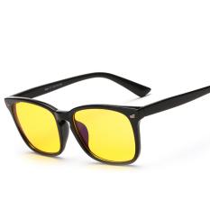 Jual Baru Anti Biru Kacamata Komputer Baca Memblokir Sinar Biru Kacamata Pria Cahaya Radiasi Tahan Game Kacamata Kuning Termurah