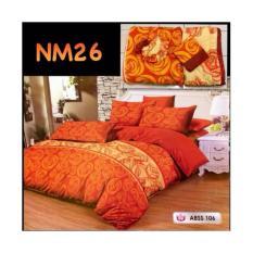 NEW Bedcover + Sprei Ukuran King size ( 180X200 ) Motif Baru TERLARIS
