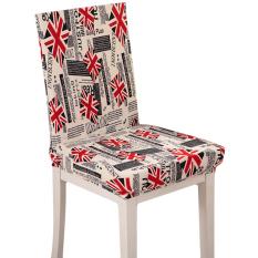 Baru Gaya Inggris Chaircase Removable Stretch Penutup Kursi Seat Covers Antifouling Spandex untuk Rumah Hotel Kantor