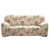 Harga Sarung Cover Sofa Kain Bahan Spandex Stretch Cetak Termurah