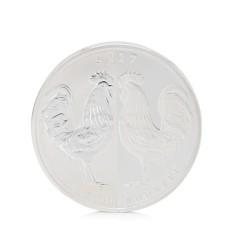 Baru Koin Peringatan 2017 Tahun Ayam Elizabeth II 1 Oz Souvenir Coin Black dan Withe-Intl