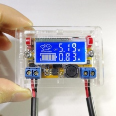 Jual New Dc Dc Adjustable Step Down Power Supply Module Voltage Current Lcd Intl Grosir
