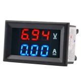 Toko Baru Dc1 100V 10A Digital Double Warna Biru Merah Led Display Voltmeter Ammeter Voltage Current Kampanye Versus Penggunaan Rumah Alat Lengkap