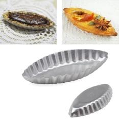 Baru Egg Tart Sailing Boat Aluminium Kue Ulang Tahun Tin Bakeware Pan Baking Cetakan-Intl