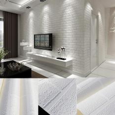 Toko Fashion Baru 10 M Pola Batu Bata 3D Putih Dan Pertumbuhan Tidak Anyaman Berbondong Bondong Wallpaper Kertas Dinding Dekorasi Rumah Internasional Yang Bisa Kredit