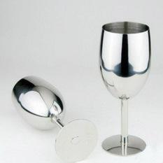 Beli Fashion Baru Mewah Atmosfer Brilian Stainless Steel Piala Gelas Anggur Mencicipi Anggur Internasional Tiongkok