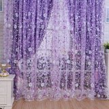 Spesifikasi Baru Floral Tulle Voile Door Window Curtain Drape Panel Sheer Scarf Valances Purple Intl Online
