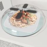 Harga Makanan Baru Splatter Guard Microwave Hover Anti Sputtering Cover Intl Yang Murah