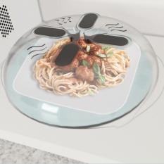 Makanan Baru Splatter Guard Microwave Hover Anti Sputtering Cover Intl Terbaru