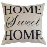 Harga New House Linen Katun Surat Sunshine Lempar Bantal Sofa Sarung Bantal Sarung Mobil Putih Yang Murah Dan Bagus