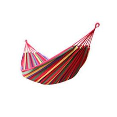 Beli Baru Besar Single Cotton Fabric Hammock Air Chair Hanging Swinging Camping Outdoor Nf Intl Nyicil