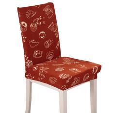 Baru Susu Kopi Chaircase Removable Stretch Penutup Kursi Seat Covers Antifouling Spandex untuk Rumah Hotel Kantor