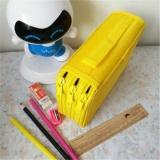 Beli Baru Portable Menggambar Sketsa Pensil Pena Zipper Case Holder Bag Untuk 52 Pcs Pensil Untuk Anak Intl Secara Angsuran