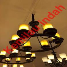 NEW PRODUCT!! LAMPU GANTUNG KI7015-8 ANTIK LAMPU KAFE CAFE CAB8