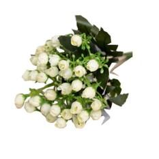 Baru Mawar Palsu Bunga Sutra Daun Buatan Rumah Dekorasi Pernikahan Buket Bunga  Pengantin-Intl 72117c3dfb