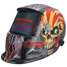 Spek Baru Surya Masker Helm Las Otomatis Gelap For Arc Cekcok Mig Penggilingan Tengkorak Baru Internasional Oem
