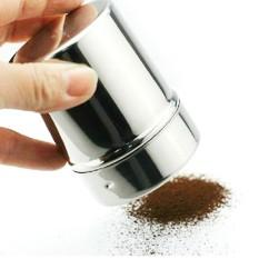 Baru Anti Karat Chocolate Pengocok' Tepung Terigu Garam Bubuk Lapisan Gula Sugar Cappuccino Kopi Sifter Tutup Pengocok' Dapur Alat-Internasional
