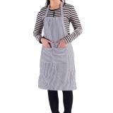Review New Striped Rok Pelayan Dapur Koki Memasak Apron Biru Intl Hong Kong Sar Tiongkok