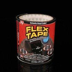 Spesifikasi New Strong Waterproof Flex Tape Black 4 X 5 Rubberized Seal Stop Leaks Tape Intl Dan Harganya