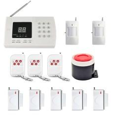 New YA-601-PSTN-1 Wireless GSM Home Burglar Alarm System Exquisite Design