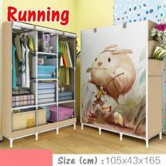 Review Toko Nf 3 Running Rak Baju Serbaguna Multifunction Wardrobe