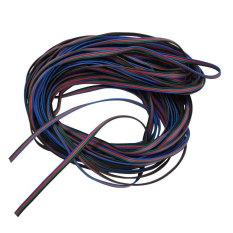 Rp 304.000 4 Warna 10 M RGB Ekstensi Jalur Kabel Kawat ...