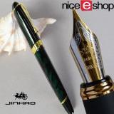Toko Niceeshop Kemewahan Jinhao X450 Faountain Pena Kaligrafi Hijau Tua Online Di Tiongkok