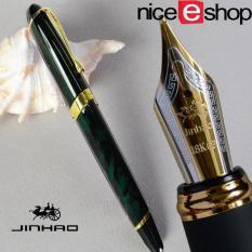 Niceeshop Kemewahan Jinhao X450 Faountain Pena Kaligrafi Hijau Tua Di Tiongkok