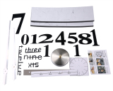 Niceeshop Diseduh Sendiri Jam Dinding Modern 3D Nomor Besar Cermin Akrilik Stiker Dinding Permukaan Jam Hitam Niceeshop Diskon 40