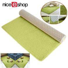 Review Pada Niceeshop Morden Beludru Karpet Bantalan Dalam Area Ruang Tamu Lantai Karpet Kamar Tidur Hijau