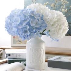 Promo Niceeshop Wedding Decoration Home Artificial Flowers Bouquet Hydrangea Party Decor Intl Niceeshop