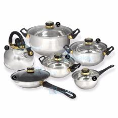 Niko Panci Set Cookware Stainless Set Lengkap Nk3sp By Kokakaa Living.