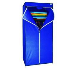 Harga Nine Box Lemari Pakaian Multifungsi Single Wardrobe Type Sw Biru Baru Murah