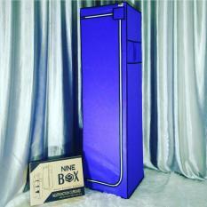 NINE BOX - Multifunction Rack Organizer 6 Layer / Rak tas / Rak baju lipat - Type LM06 UNGU