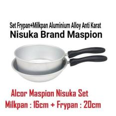 Nisuka Frypan Milkpan Set Alcor Maspion