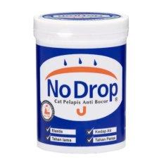 NO DROP Cat Anti Bocor 4 kg - Putih (Hanya Pengiriman Jabodetabek, Jabar Jateng saja)
