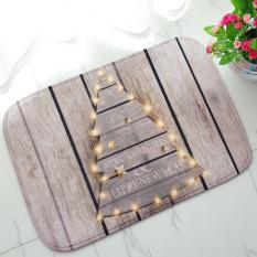 Jual Busa Lunak Yang Tidak Licin 3D Merry Christmas Tree Ii Bath Toilet Karpet Kamar Mandi Karpet Lantai Mat Intl Oem Online